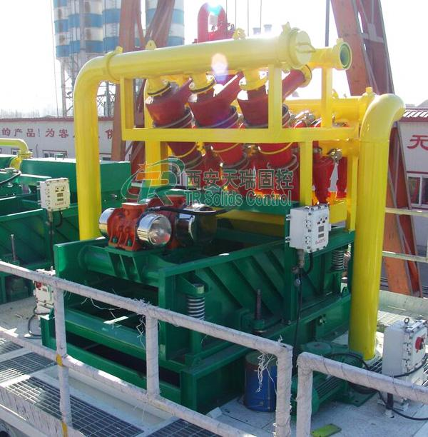 API / ISO High Power Mud Cleaning Equipment City Bored Piling Use