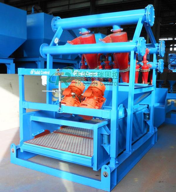 0.25-0.4Mpa Oilfield Mud Cleaning Equipment Including Desander and Desilter