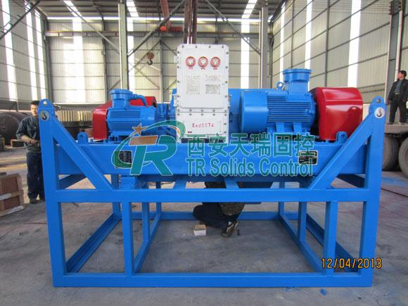 2200r/min Oilfield Centrifuga Decanter , Oil Treatment System Sludge Centrifuge