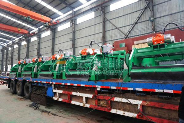 Drilling Mud Fluids HDD Shaker Tank , API / ISO Certificated Solids Control System