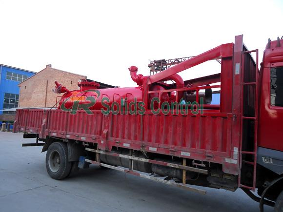 Stable Liquid Gas Separator 180m3/H Capacity DN150mm Output Pipe ISO