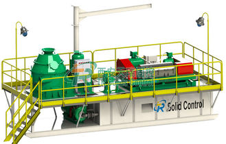 China API Standard Skid Mounted Mud Tanks Drilling Waste Management System supplier