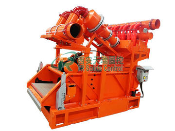 China 0.25-0.4Mpa Oilfield Mud Cleaning Equipment Including Desander and Desilter supplier