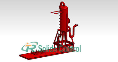 China Stable Liquid Gas Separator 180m3/H Capacity DN150mm Output Pipe ISO supplier
