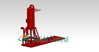 China High Capacity Oilfield Separator Gas Buster Efficient Degassing Performance supplier