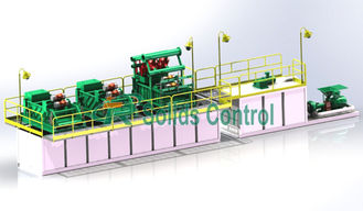 China Efficient Mud Cleaning Equipment Mud Treatment System 120m3/H Max Slurry Capacity supplier