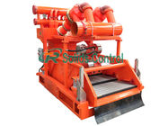 China Large Capacity Drilling Mud Cleaner 1250kg Weight For Oilfield Well Drilling company