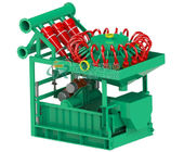 Oil Drilling Mud Cleaning Equipment With Bottom Shale Shaker 320m3/H Capacity
