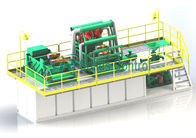 Compact Structure Drilling Mud System Energy Saving Easy Operation ISO9001