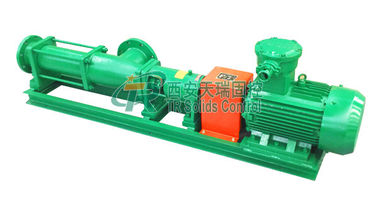 China 22KW Oil Sludge Dewatering System Screw Type Pump , Drilling Fluids Screw Pump distributor