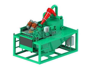 China Double Layers Bored Pile Drilling Mud System , 15KW HDD Mud Circulation System distributor