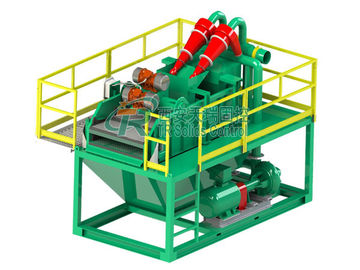 China Hydrocyclone 45KW Mud Tank System , Compact Size Drilling Mud Disposal factory