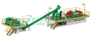 China Large Scale OBM Drilling Mud System for Oil Based Drill Cuttings Management factory
