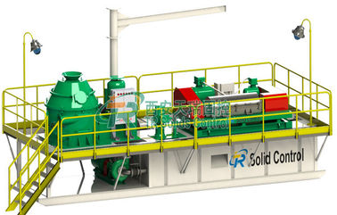 China Skid Mounted Mud Tanks Drilling Waste Management System , High Speed Centrifuge Mud System distributor