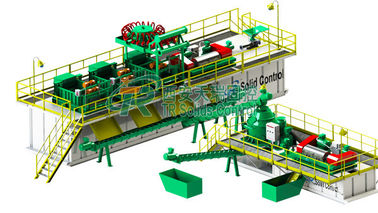 Onshore Mud Circulation System In Drilling , Environmental Friendly Drilling Mud Treatment