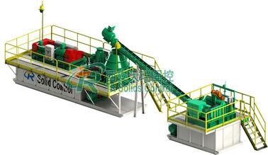China Water Based Drilling Mud System with 2 Screw Pumps Electric Control factory