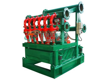 High Performance Mud Cleaner with Bottom Shale Shaker / Oil Drilling Mud Shaker