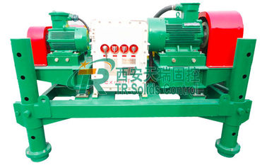China Light Workload Drilling Mud Centrifuge Low Energy Consumption 55kw Motor Power distributor
