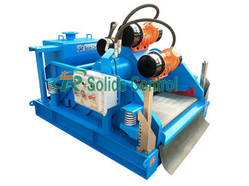 China 1.5kw*2 Linear Motion Shale Shaker For Drilling / Oilfield Shale Shaker distributor