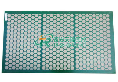 China Steel Frame Shale Shaker Screen 2-3 Layers For Swaco Shale Shaker distributor