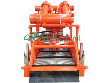 China Customized Mud Cleaner / Mud Control Equipment Large Capacity 1835 * 1230 * 1810mm distributor