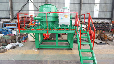 China Stable Durable Drilling Waste Vertical Cutting Dryer 930mm Basket Diameter distributor
