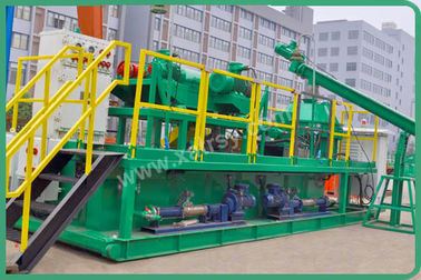 China Mud Drilling Vertical Cutting Dryer 60L Fuel Tank Volume 55kw Main Motor Power distributor