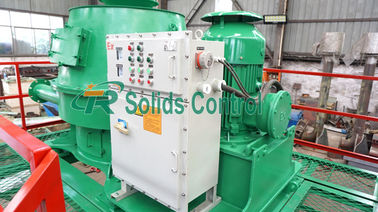China Recycling Drilling Fluid Vertical Cutting Dryer 30 - 50T/H Capacity distributor